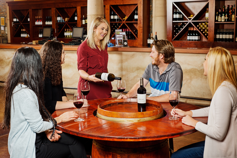 Wine Tasting at Sebastiani Vineyards and Winery in Sonoma, California
