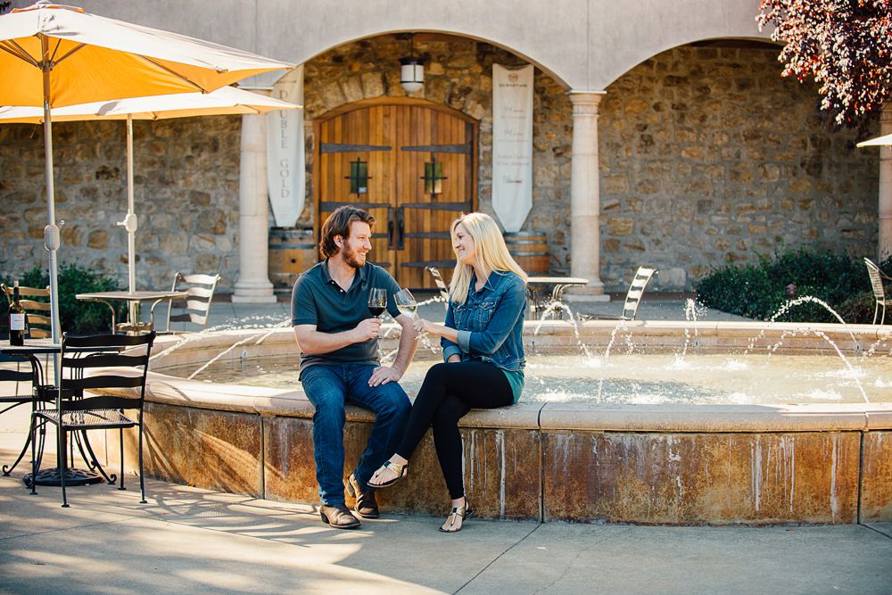 Wine Tasting at Sebastiani Vineyard and Winery in Sonoma, California