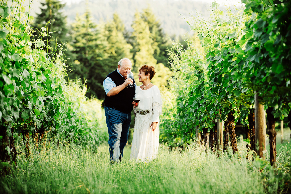 Sheila and Bill Blakeslee owner of Blakeslee Vineyard Estates