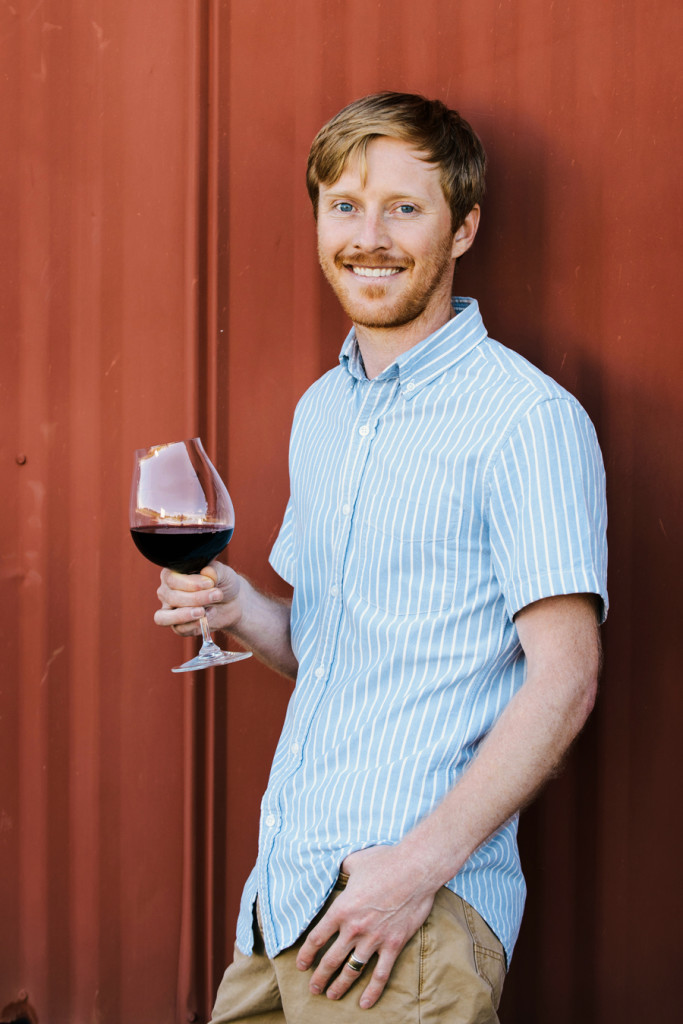 Marc Myers winemaker for The Four Graces winery in Dundee in Oregon