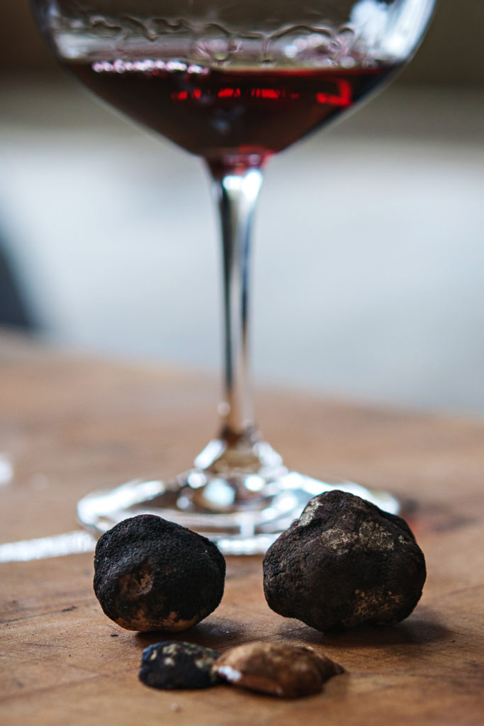 Pinot Noir and Oregon Truffles at the Oregon Truffle festival 2017