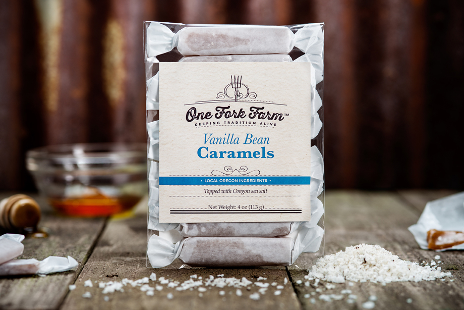 Vanilla Bean One Fork Farm Caramels