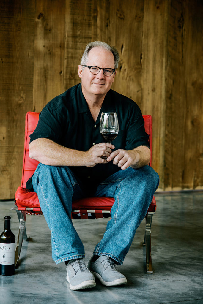 Mike Martin owner and partner at The Walls Winery in Walla Walla.