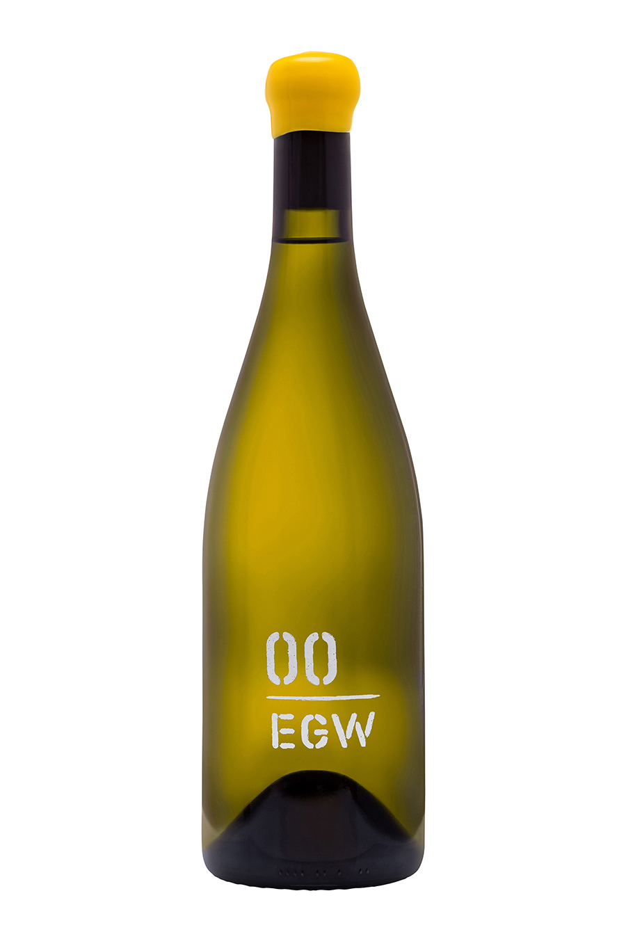 Bottle of EGW chardonnay